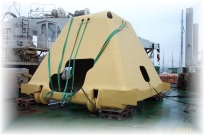 Offshore GRP cover
